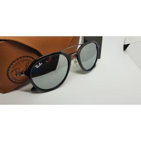 826b6a3ebe589 Óculos Ray Ban Prata Espelhado De Sol - Óculos no Mercado Livre Brasil
