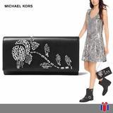 Michael Kors Bolso Bellamie Clutch -65% - Original Nueva