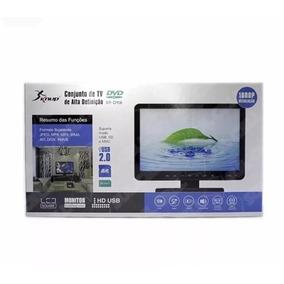 Tv 15 Polegadas 3d Monitor E Dvd C/ Usb Hdmi D-116 Seoo