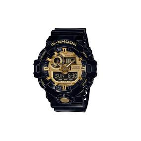d5e7606ccf6 Relogio Casio G Shock Ga710gb 1a Masculino Preto Dourado - Relógios ...