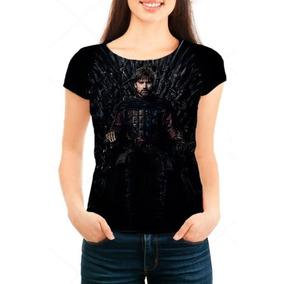 Camiseta Babylook Game Of Thrones 8ª Temporada Jaime Lannist