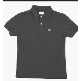 02939e3539fe2 Camisa Camiseta Polo Infantil Lacoste Tam 10