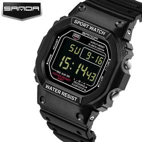 3016fe234ec Relogio Digital Todo Preto - Relógios no Mercado Livre Brasil