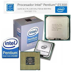 Procesador Intel® Pentium® E5300, Socket 775, 2,60 Ghz
