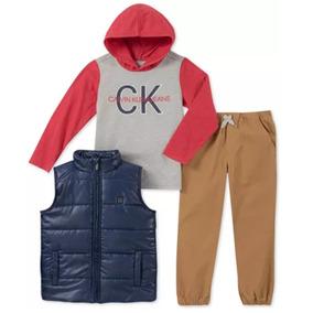 Conjunto Calvin Klein Para Niño