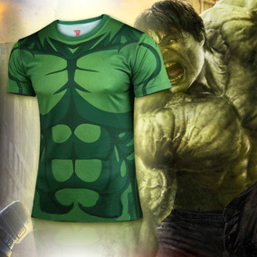 Playera Corta Comics Superheroes Hulk Hombre Xtreme C