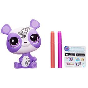 Boneco Littlest Petshop Deco Pets Penny Ling Hasbro