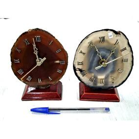 Relógio De Agata Pedra Semi Preciosa Equilibrio Vitalidade 3