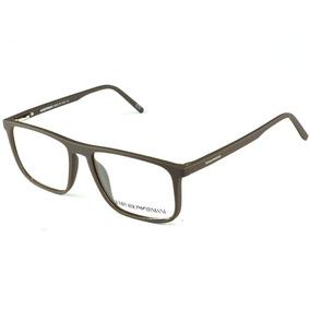 Armação Óculos Grau Tr-90 Emborrachado Original Marrom Homem · R  87 49 576e166bfa