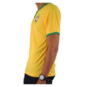 Camisa Seleção Brasileira Meltex Kit C  4 Camisas 03660059e32e7
