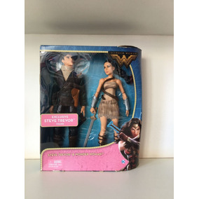 Steve Trevor & Mulher Maravilha Bonecos Da Disney