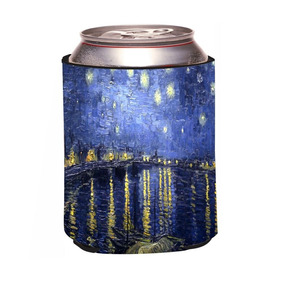 08b3fcfeade7db Rikki Knight Vincent Van Gogh Starry Night Design Beer Can