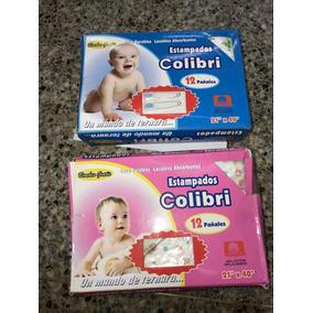12 Pañales De Tela Colibri 100% Originales A Niñas Y Niños