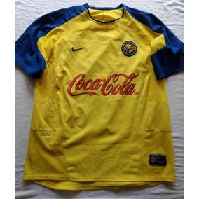 199c1cb75b4 Jersey Playera Aguilas Del America Nike 2003 Cuauhtemoc 10 L