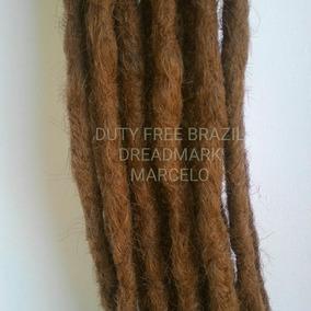 Kit Com 20 Dreads Sinteticos Org ( Castanho Claro ) 50 Cm