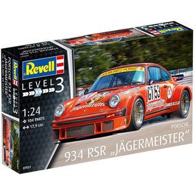 Revell Porsche 934 Rsr Jagermeister 1/24 Armar Pintar