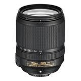 Lente Nikon 18-140mm F/ 3.5-5.6g Vr Negro.