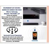 Barra De Sonido Samsung Hw-n300/zp - 2 Canales Con Wooffer