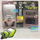 Sony De206ck Discman Cd Player +carkit Nuevo Sellado Oferta!