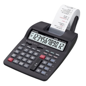 Calculadora Con Impresora Casio Hr 100tm 2 Colore Districomp