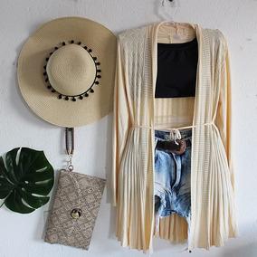 Roupas Femininas Kimono Cardigã Tricot Importado Barato 2553