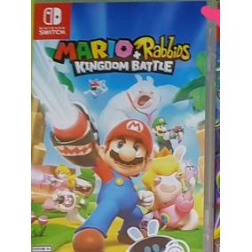 Jogo Switch Mario + Rabbids Kingdom Battle