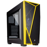 Gabinete Gamer Corsair Carbide Rgb Spec 04 Negro Amarillo