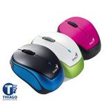 Mouse Inalambrico Genius 9000r Rosa, Azul O Verde Recargable