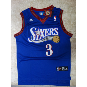 Camisa Allen Iverson Philadelphia Sixers 76ers Todas Cores 119b1731ebb6c
