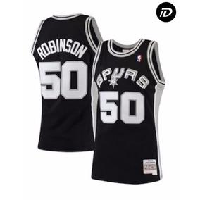 de92443b6 Camisa - David Robinson - Spurs -  50 - Preta. R  125. 12x R  11. Frete  grátis