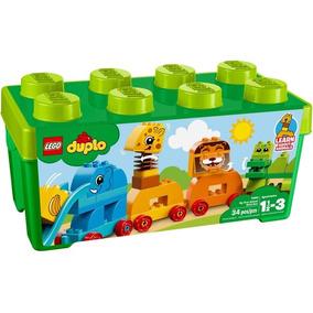 10863 Lego Duplo - A Minha Primeira Caixa - Trem Animal