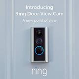 Cámara Ring Door View: Seguridad Inteligente Con Video