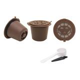 Kit 3 Cápsulas Nespresso Reutilizável Reaproveitável Café