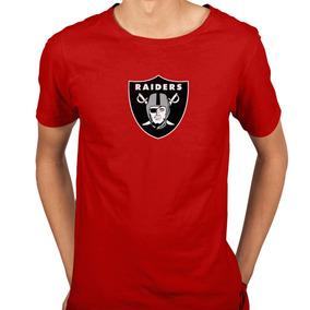 Camiseta Raiders Vermelha - Camisetas no Mercado Livre Brasil 79990ef45be6a