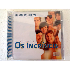 Cd Original Os Incríveis O Essencial