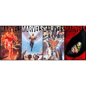 Marvels Uma Era De Maravilhas Livros 1, 2, 3 E 4 - Ano 1995