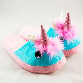 Pantuflas Unicornio Kawai Kawaii Varias Tallas Niña Nuevas