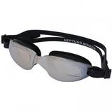 Óculos De Natação Oxer Neptuno Mirror - Adulto - Prata preto ce7381fe96