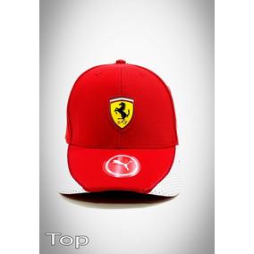 Bone Oficial Scuderia Ferrari Puma Santander - Calçados 49bae566876