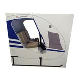 Cabine Simulador Voo X-plane Fsx Saitek Joystick Helicopero