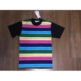 Chumbo Camiseta Live Sk8 Listrada Preta - Camisetas Manga Curta para ... 64556e8bb1