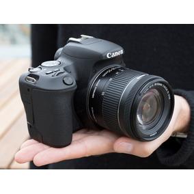Nova Câmera Canon Sl2 +18-55 Is Stm C/ Nf-e Rev. Autor Canon