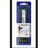 Adata Memoria Ram Para Pc Ddr3 4gb Premier 1600mhz Udimm