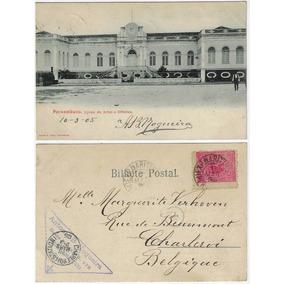Pe 1905 Cartão Postal Foto Liceu De Artes E Ofícios Recife