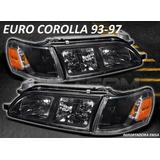 Focos Euro Toyota Corolla 93 - 97 ,oferta