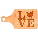 45d8654e7d Amor Pollo Aves De Corral Gallinas De Gallina Decoración De