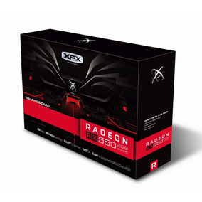 Placa De Vídeo Xfx Amd Radeon Rx 550 2gb Core, Gddr5