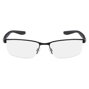 Óculos De Grau Nike 8172 001/56 Preto Acetinado