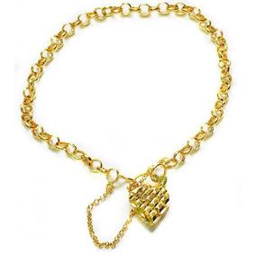 c5e3b7f042b08 Bracelete Feminino De Ouro 12k - Joias e Relógios em Mauá no Mercado ...