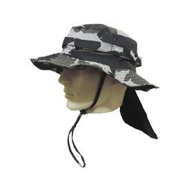 Chapéu Pescador Com Aba E Fator De Proteção Kit- 20 Unidade
